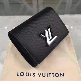 LOUIS VUITTON - LV 財布 小財布 三つ折り 3つ折り レデイース財布 ブラック