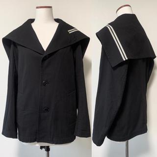 ヨウジヤマモト(Yohji Yamamoto)のヨウジヤマモト ワイズ y's セーラー服 ジャケット コート(テーラードジャケット)