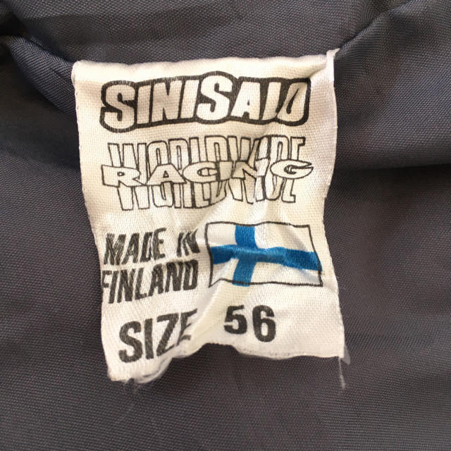 シニサロ SINISALO 80s90s ビンテージ レーシング ジャケット北欧 メンズのジャケット/アウター(ナイロンジャケット)の商品写真