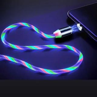 マグネット充電LEDケーブル 1m