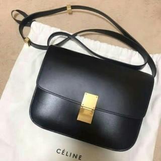 celine - 【期間限定】【美品】 セリーヌ クラシックボックス ミディアム ブラック