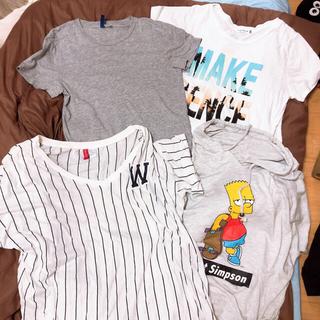 レプシィム(LEPSIM)の使用感あり Tシャツ パーカー 4点セット(Tシャツ(半袖/袖なし))