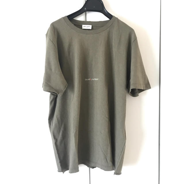 Saint Laurent(サンローラン)の新品 Saint Laurent 半袖 Tシャツ ロゴ S サンローラン メンズのトップス(Tシャツ/カットソー(半袖/袖なし))の商品写真