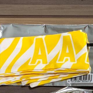 AAA - 新品  AAA  リボンバンダナ  バンダナ  黄色   日高光啓