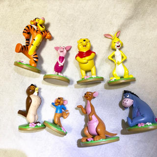 Disney - くまのプーさん ミニフィギュア 8体 セット