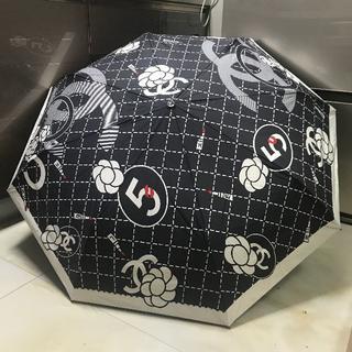 CHANEL - 折りたたみ 傘 自動開折り畳み傘 BT002