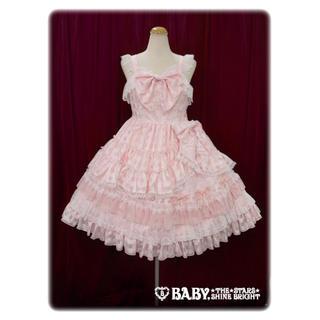 BABY,THE STARS SHINE BRIGHT - ave maria lily doll ジャンパースカート ピンク