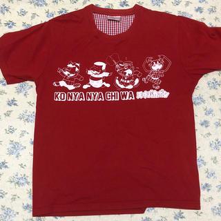 天才バカボンTシャツ赤(Tシャツ/カットソー(半袖/袖なし))