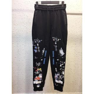 オフホワイト(OFF-WHITE)のOFF-WHITE パンツ ズボン メンズ カジュアルパンツ(ワークパンツ/カーゴパンツ)