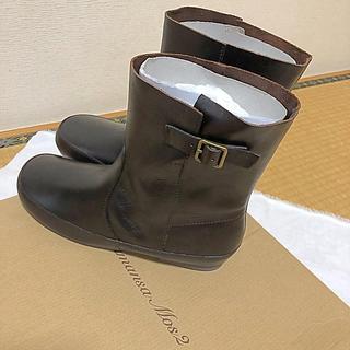 サマンサモスモス(SM2)のSamansa Mos2 レザーショートブーツ(ブーツ)