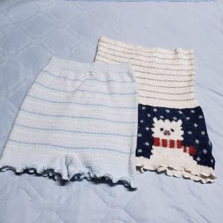 西松屋 - 美品♪ 着用1日 マタニティ 防寒  腹巻 付 毛糸 の パンツ セット