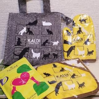 カルディ(KALDI)の未使用 カルディ 猫の日バッグ お菓子抜き(調理道具/製菓道具)