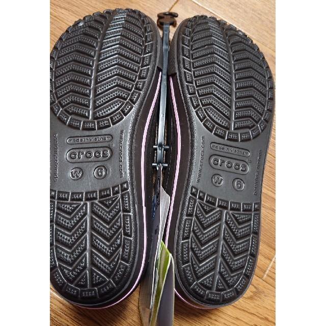 crocs(クロックス)の新品 タグ付き  クロックス シューズ レディースの靴/シューズ(その他)の商品写真