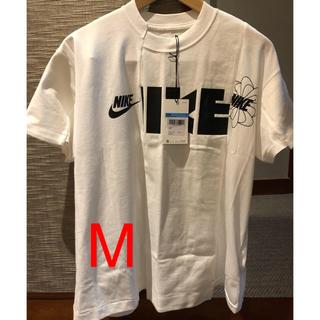サカイ(sacai)のNIKE sacai コラボTシャツ Mサイズ(Tシャツ(半袖/袖なし))