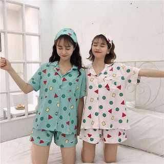 クレヨン しんちゃん 半袖 パジャマ 上下セット ルームウェア 半ズボン