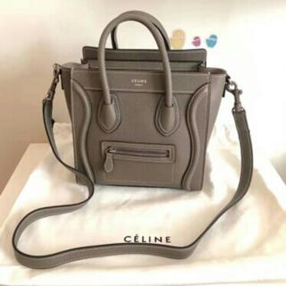 celine - セリーヌ ラゲージナノ CELINE ハンドバッグ