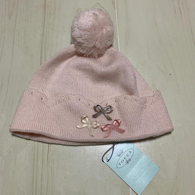 TOCCA(トッカ)のTOCCA ベビーニット帽子 キッズ/ベビー/マタニティのこども用ファッション小物(帽子)の商品写真