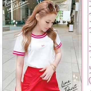 レディー(Rady)のRady♡今季ラインTシャツ*eimyrienda(Tシャツ(半袖/袖なし))