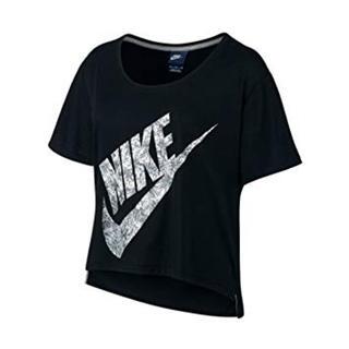 NIKE - ナイキ フラワーグラフィックビッグロゴTシャツ レディース