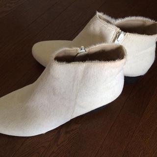 新品タグ付ショートブーツ(ブーツ)