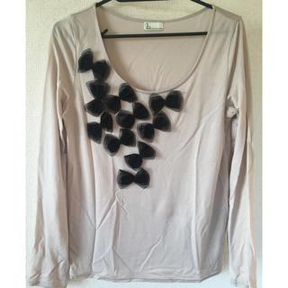ルカ(LUCA)のTシャツ ベージュ(Tシャツ(長袖/七分))