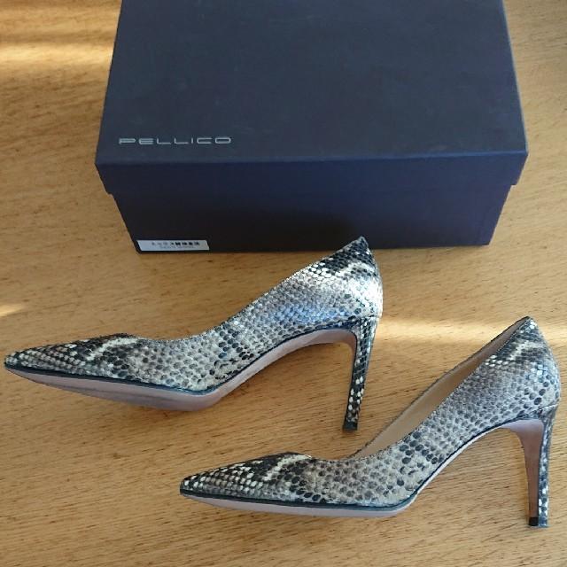 DEUXIEME CLASSE(ドゥーズィエムクラス)のDeuxiemeClasse PELLCOパイソンパンプス レディースの靴/シューズ(ハイヒール/パンプス)の商品写真
