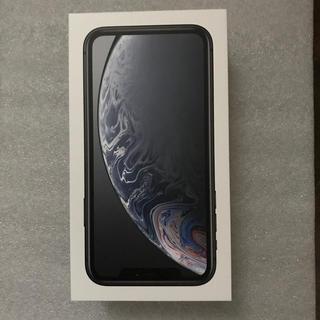 iPhone - iPhone XR 128G ブラック 新品 au