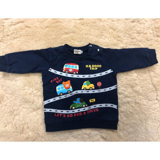 ミキハウス(mikihouse)のミキハウス 長袖シャツ サイズ70(Tシャツ)