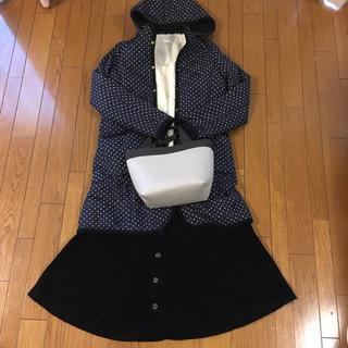 ローリーズファーム(LOWRYS FARM)のコート&セーター&スカート三点セット(セット/コーデ)