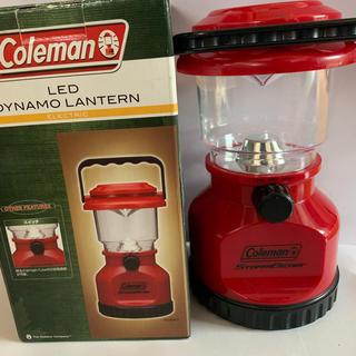 コールマン(Coleman)のコールマン LED ダイナモランタン  廃盤?(防災関連グッズ)