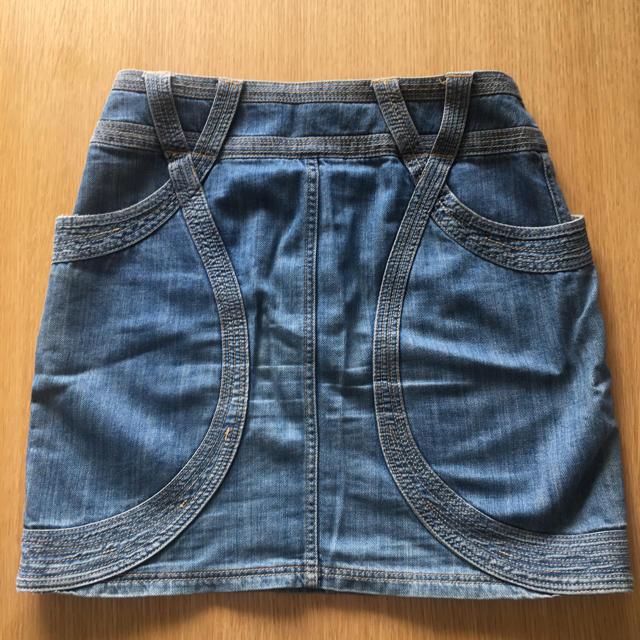 TSUMORI CHISATO(ツモリチサト)のツモリチサト デニムパンツ レディースのスカート(ミニスカート)の商品写真