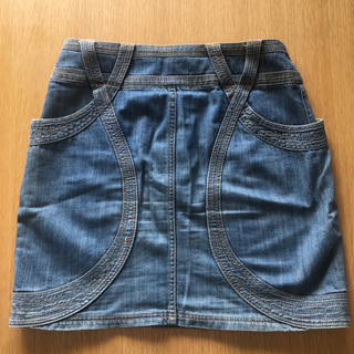 ツモリチサト(TSUMORI CHISATO)のツモリチサト デニムパンツ(ミニスカート)