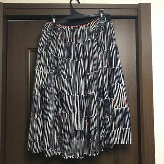 ミナペルホネン(mina perhonen)のmina perhonen スカート(ひざ丈スカート)