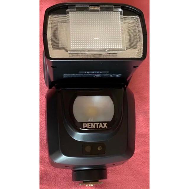 PENTAX(ペンタックス)のAF360FGZ II PENTAXフラッシュ スマホ/家電/カメラのカメラ(ストロボ/照明)の商品写真