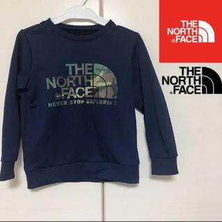 THE NORTH FACE - ノースフェイス 110 迷彩柄 スウェット 長袖 トレーナー  キッズ