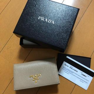 プラダ(PRADA)のプラダ☆カードケース 名刺入れ、小銭入れにも(コインケース/小銭入れ)
