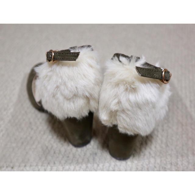31 Sons de mode(トランテアンソンドゥモード)のファーパンプス♡31sons de mode  秋・冬用 レディースの靴/シューズ(ハイヒール/パンプス)の商品写真