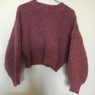 Ameri VINTAGE - AMAIL MIX COLOR KNIT セーター