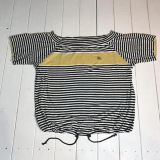 バーバリーブラックレーベル(BURBERRY BLACK LABEL)のバーバリー トップス(カットソー(半袖/袖なし))