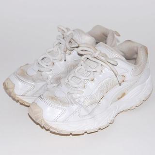 ムーンスター(MOONSTAR )のMoonstar ADVAN スニーカー 運動靴 通学シューズ 白 23cm(スニーカー)
