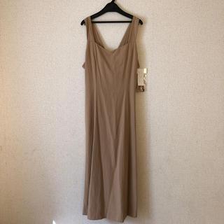 ベルメゾン(ベルメゾン)の♡新品未使用 タグ付き  秋色 ジャンパースカート ♡(ロングワンピース/マキシワンピース)