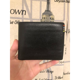 ポールスミス(Paul Smith)のポールスミス マルチストライプ バイカラー コントラストインサイド 二つ折り財布(折り財布)
