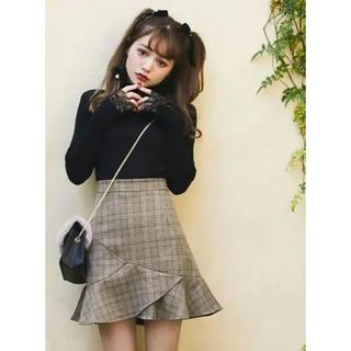 GRL - GRL♡チェックフリルミニスカート