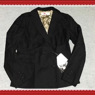 イーハイフンワールドギャラリー(E hyphen world gallery)の新品✨黒ジャケット(テーラードジャケット)