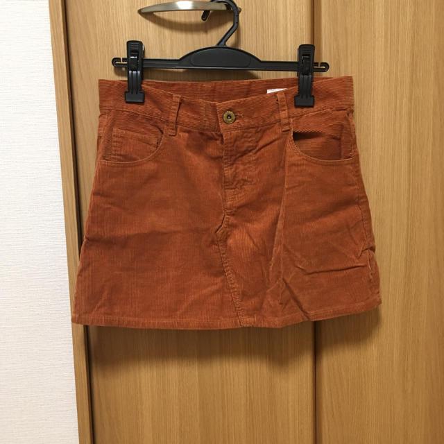 LOWRYS FARM(ローリーズファーム)のローリーズファーム コーデュロイスカート L ブラウン レディースのスカート(ミニスカート)の商品写真