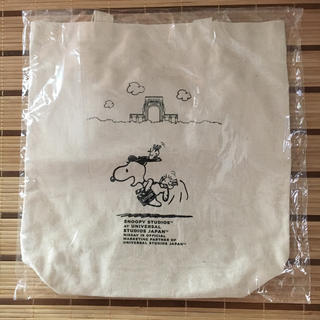 SNOOPY - スヌーピー トートバッグ 新品未使用