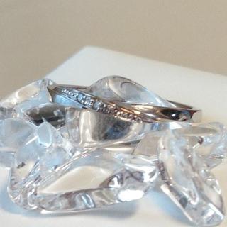 サマンサティアラ(Samantha Tiara)のサマンサティアラ K10 ダイヤモンドリング(リング(指輪))