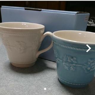 ウェッジウッド(WEDGWOOD)のウェッジウッド ペアマグカップ(グラス/カップ)