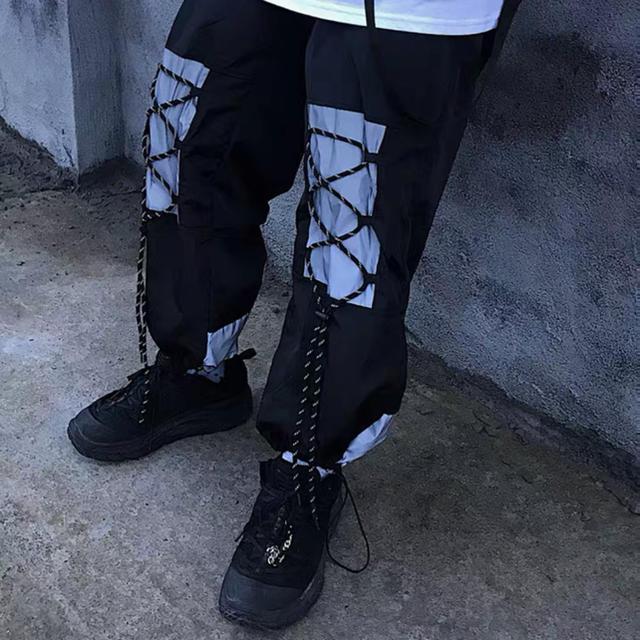 【月末まで限定SALE6900→6100】libertyリフレクターカーゴパンツ メンズのパンツ(ワークパンツ/カーゴパンツ)の商品写真