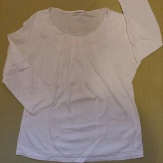 ベルメゾン - 七分袖シャツ白・Style Note【日本製】大きいサイズ